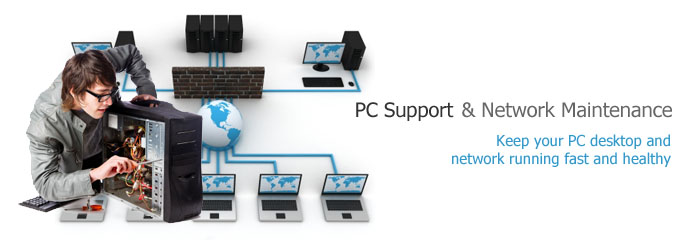 PC Support & Network Maintenance